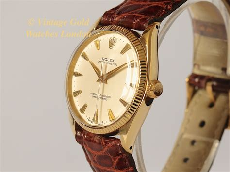 rolex oyster perpetual 14k 1957 sorry now sold 12thoct