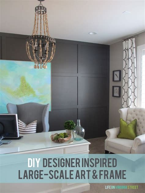 home office diy 25 beautiful and inspiring diy wall art ideas that will