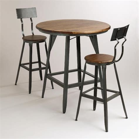 Pub Tables And Stools by Hudson Black And Brown Pub Table Collection