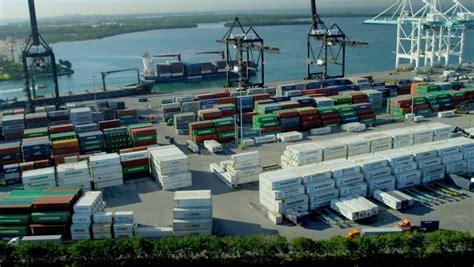 Mba Shipping Port Fl by Miami December 2012 Aerial View Portmiami International
