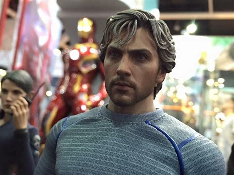 quicksilver movie toy hot toys quicksilver avengers age of ultron collectible figure