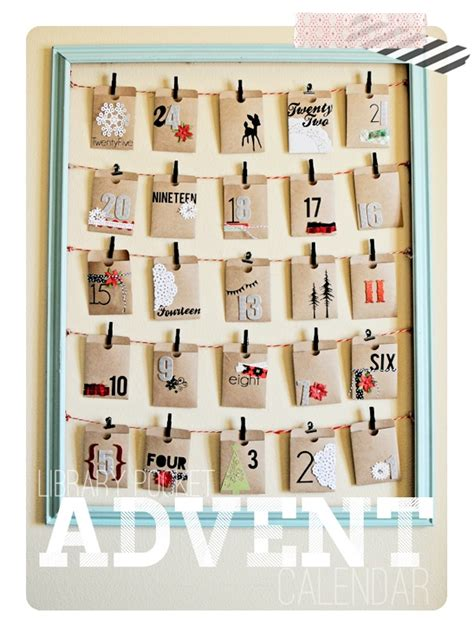 Handmade Advent Calendar Ideas - cool advent calendar ideas festival around the