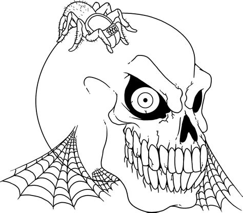 coloring book pages halloween scary halloween coloring pages free large images