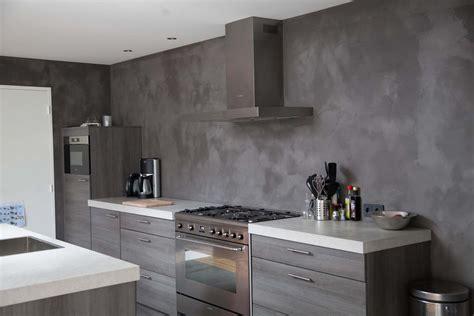 achterwand tegels keuken van der looy betonlook achterwand