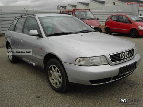 old car owners manuals 1996 audi a4 electronic valve timing 1996 audi a4 avant 1 8 automatic kilmaautomatik car photo and specs