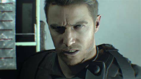 Resident Evil Chris Redfield there s a reason chris redfield looks different in