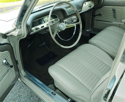 Corvair Seat Upholstery by Flattop Monza 1964 Chevrolet Corvair Monza With I