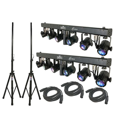 chauvet dj lighting 2 6spot dance floor led color light