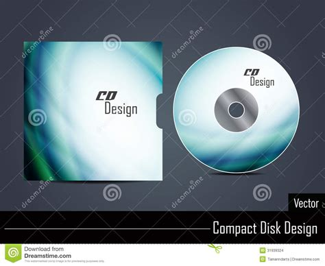 design free cd cover presentation of vector cd cover design stock images