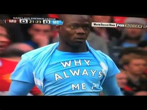 Always Me balotelli tribute song shaggy why always me