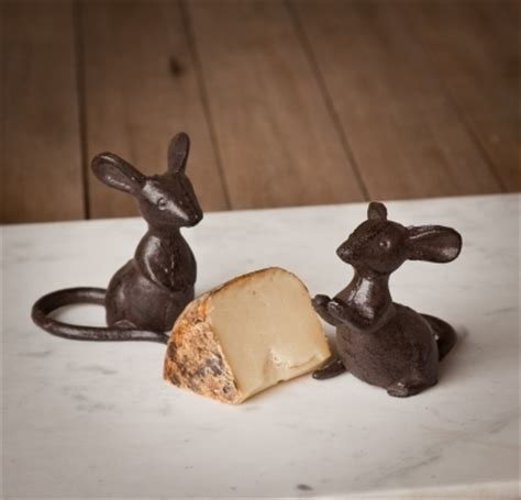 Mouse Iron cast iron mice cheese plate mice park hill collection
