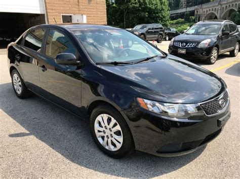 Kia Warranty 2013 by 2013 Kia Forte Ex 54k Black Clean Factory