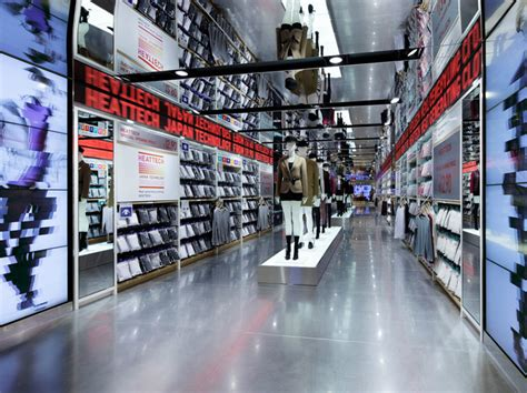 design stores in nyc uniqlo store by wonderwall new york 187 retail design blog