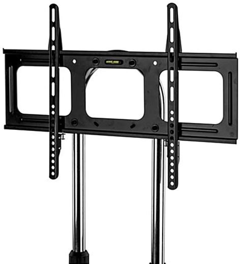 Tv Metal Stand Bracket 13m Thick 400 X 400 Pitch 45cm Wall Distance 1 mobile flat panel tv stands black metal with shelf vesa mount