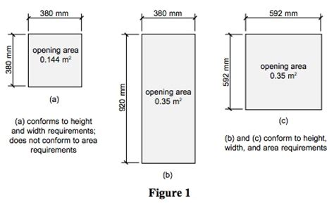 bedroom egress requirements window height from floor in cm gurus floor