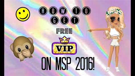 free vip msp 2016 how to get free vip on msp 2016 closed youtube