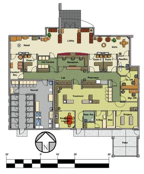 hospital floor plans veterinary floor plan pet paradise animal hospital