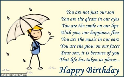 Happy Birthday Quotes For Sons by My Birthday Quotes Quotesgram