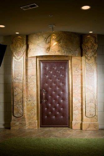 upholstered door interior design decorating
