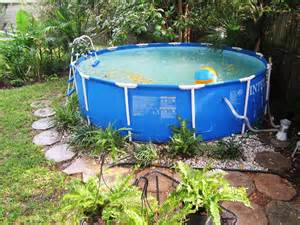 Backyard Ideas With Above Ground Pool Pool Backyard Ideas With Above Ground Pools Fence Outdoor Transitional Expansive