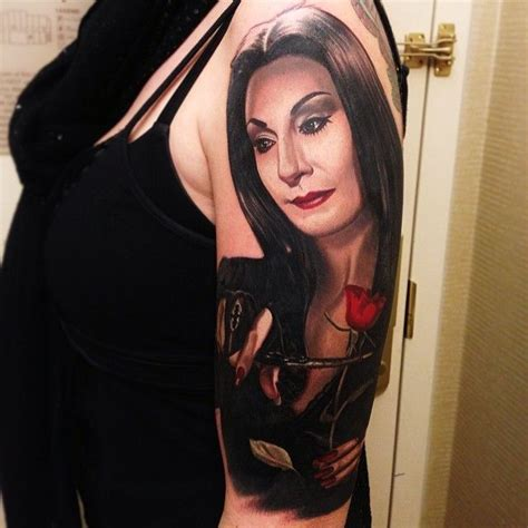 morticia addams tattoo 292 best images about nikko hurtado on elvis