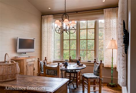 Ambiance Interiors by Asheville Interior Design Window Treatmants Ambiance