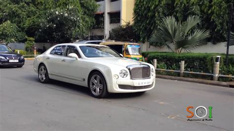 Bentley Mulsanne In Bangalore India Youtube