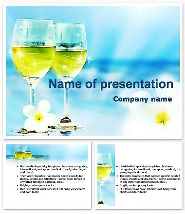 Cocktail Recipes Powerpoint Templates Imaginelayout Com Recipe Powerpoint Template