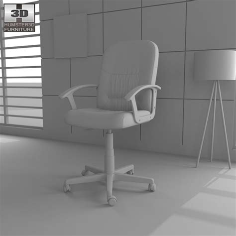 Moses Office Chair by Moses Swivel Chair 3d Model Humster3d