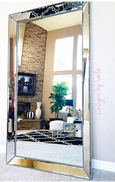 large wall mirrors ideas  pinterest wall