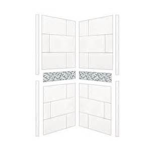 American Bath Factory Shower Systems Reviews Shop American Bath Factory Laguna Shower Wall Surround