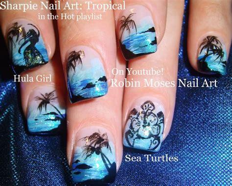 nail art tutorial palm tree best 25 beach vacation nails ideas on pinterest beach