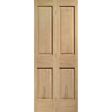 Bi Fold Doors by Xl Joinery Un Finished Oak Bi Fold Door