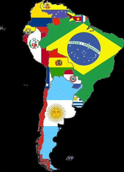 south america map with flags best 25 colombia flag ideas on flag