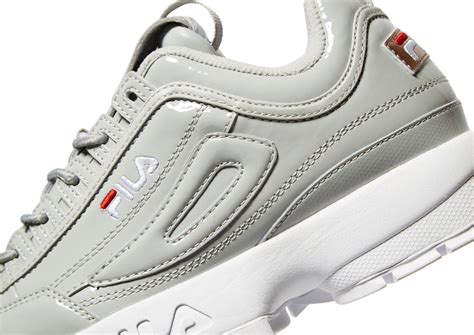 Fila Grey lyst fila disruptor ii in gray