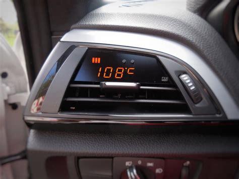 Bmw 1er F20 Temperaturanzeige by Bmw 1er 2er F Reihe P3cars