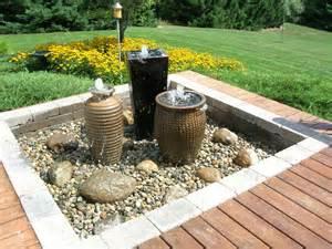 getaway gardens water features make for backyard