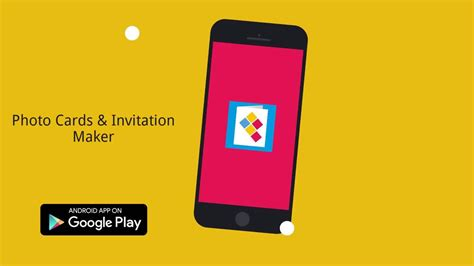 How To Make Photo Cards Invitations From Android App