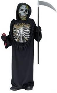 Home kids costumes bleeding skeleton zombie costume kids