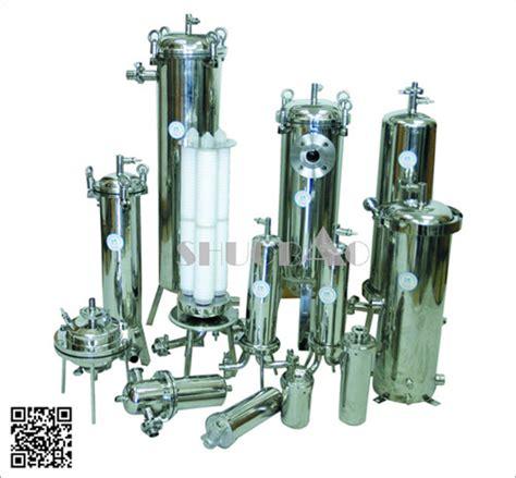 Housing Cartridge Filter stainless steel water filter housing china shuobao