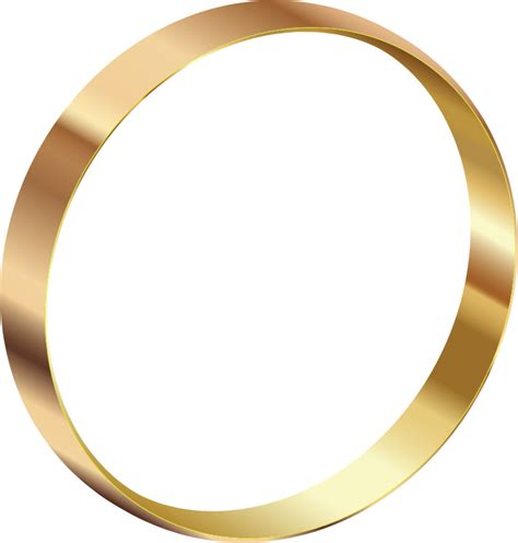 Standing Ring clipart gold ring standing