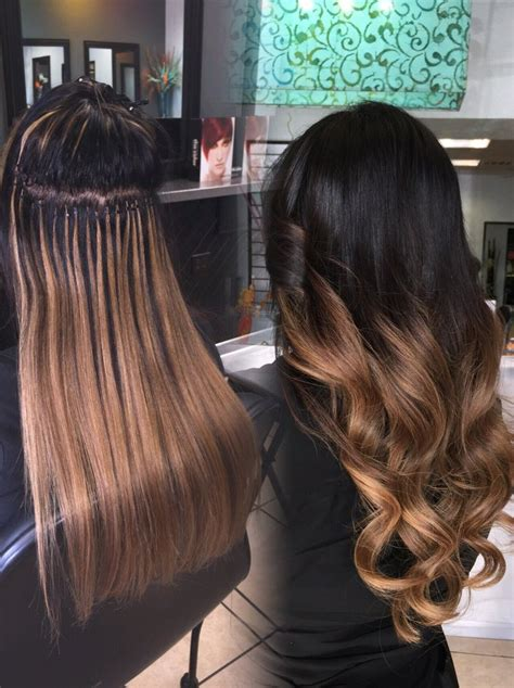 babe hair extensions ombre babe hair extensions micro beads itip extensions