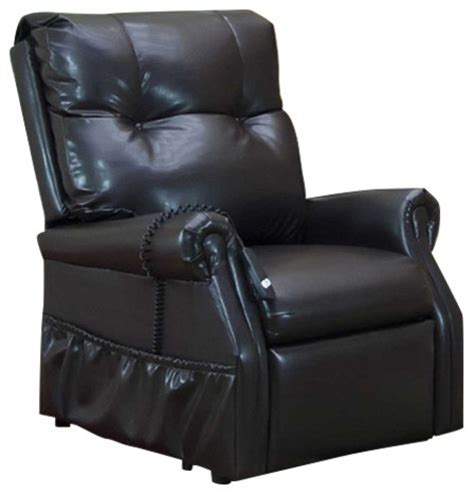 med lift chairs recliners med lift dawson two way reclining lift chair dark brown