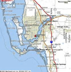 cape coral map florida cape coral and fort myers area photos find homes for sale
