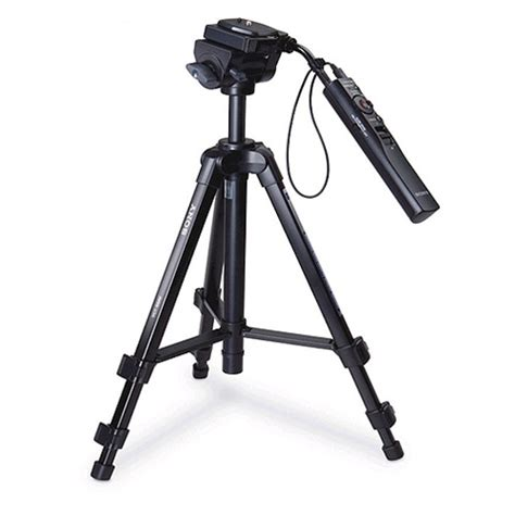 Tripod Sony Remote sony vct 50av 45 quot remote tripod for use w compatible sony camcorders