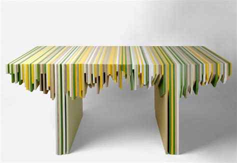 designer rabih hage uses leftover corian to create