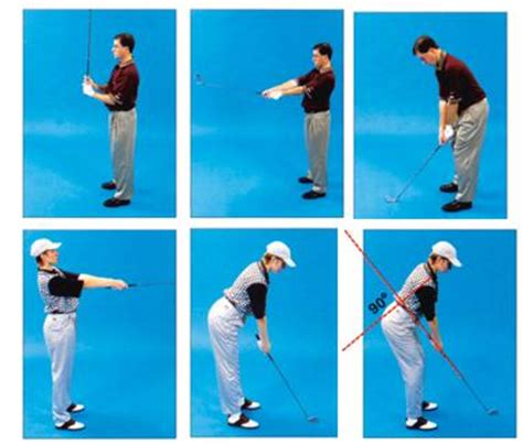 golf swing arm position the set up claude leblanc