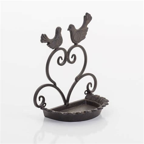 cast iron wall mount cast iron wall mounted bird feeder by the new eden