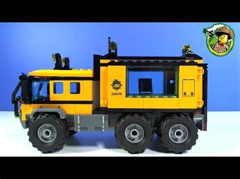 Lego City 60160 Jungle Mobile Lab lego city jungle mobile lab 60160
