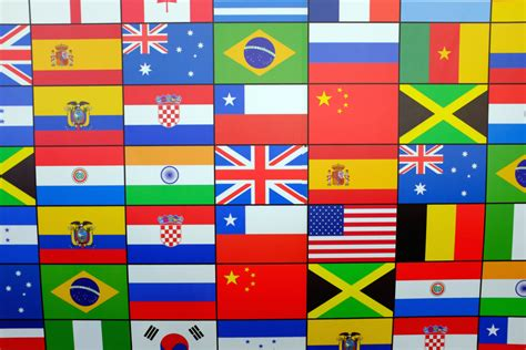 flags of the world how many how many of these world flags can you identify